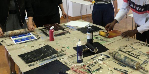 Kunstworkshop in Altentreptow